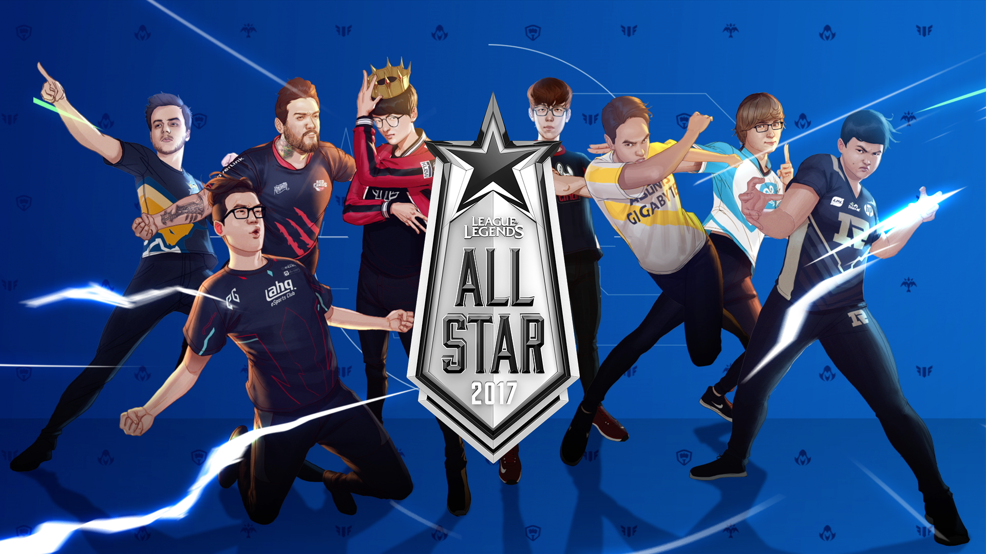 Fondos De Pantalla All Star 2017 League Of Legends